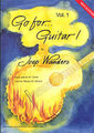 Broekmans Go for Guitar Vol. 1 incl. CD / Joep Wanders (for guitar)