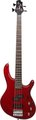 Cort Action-Bass Transparent Red