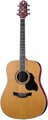 Crafter Dreadnought, Solid Cedar D-7 (natural)