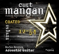 Curt Mangan Acoustic Guitar 80/20 Bronze Coated Medium Light (12-54)