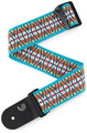D'Addario 50G09 Hootenanny Straps (Sunset) Guitar Straps