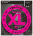 D'Addario ECB81-5 Chromes Bass 5-String, Light /  45-132 (Long Scale)