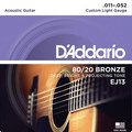D'Addario EJ13 Custom Light 'Ecoline'