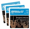 D'Addario EJ16-3D Light