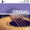D'Addario EJ26-3D Custom Light (011-052)