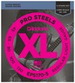 D'Addario EPS170-5 ProSteels Round Wound Bass Strings
