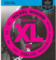 D'Addario ESXL170 Regular Light 045 - 065 - 080 - 100