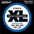 D'Addario ETB92-5 Tapewound 5-String Bass, Medium, Long Scale