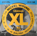 D'Addario EXL110+ Regular Light Plus 010-048 E-Gitarren Saitensatz .010