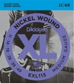 D'Addario EXL115 Blues/Jazz Rock / 011-049 .011 Electric Guitar String Sets