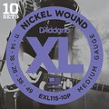 D'Addario EXL115 Blues/Jazz Rock / 011-049 (Multipack)