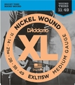 D'Addario EXL115W Light Top/Medium Bottom / 011-049 E-Gitarren Saitensatz .011
