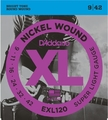 D'Addario EXL120 Super Light / 009-042 (Nickel Wound) E-Gitarren Saitensätze .009