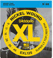 D'Addario EXL125 Super Tops / 009-046
