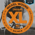 D'Addario EXL140-8 8-String Electric Guitar String Sets