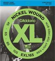 D'Addario EXL165 Regular Light Top / Medium Bottom, Long Scale (045-105) Juegos de cuerdas bajo 4 cuerdas 0.045