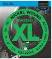 D'Addario EXL220-5 Super Light Gauge, Long Scale (040-125)