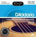 D'Addario EXP38 12 String, Light (010-047)