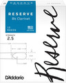 D'Addario Reserve Bb Clarinet #2.5 (strength 2.5, 10 pack)
