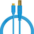 DJ TechTools USB-C chroma cable straight (Blue)