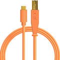 DJ TechTools USB-C chroma cable straight (Orange)
