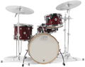 DW Drum Workshop Kesselsatz Design / Frequent Flyer (cherry stain)