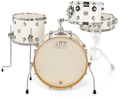 DW Drum Workshop Kesselsatz Design / Frequent Flyer (white gloss)