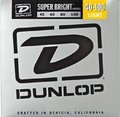 Dunlop El. Bass .040-.100 'Super Bright' Nickel Pl. Steel R./W. Long Sc. Light