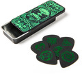 Dunlop 'I Love Dust' Pick Tin - Green (6 picks)