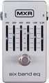 Dunlop MXR M109S 6-Band Graphic EQ (Silver)