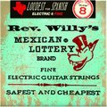Dunlop Rev. Willy's Mexican Lottery Nickel Plated Round Wound, Fine / .008 - .040
