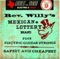 Dunlop Rev. Willy's Mexican Lottery Nickel Plated Round Wound, Light / .009 - .042