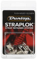 Dunlop Straplok Flush Mount Strap Retainer SLS1401N Guitar Strap Locks