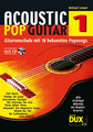 Dux Acoustic Pop Guitar Vol 1 / Langer Michael (incl. CD)