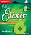 Elixir NanoWeb 6-Set Nickel Plated Steel Long Scale (super light / .032-.125) Set Corzi Bass (6 Corzi)