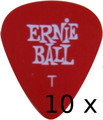 Ernie Ball 9103 - Set of 10 (Psycho Red / Thin)