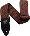 Ernie Ball Jacquard 4162 Strap (imperial paisley red)