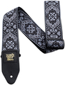 Ernie Ball Jacquard 4166 Strap (tribal silver/white)