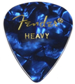 Fender 351 Shape Premium Celluloid (blue moto heavy - 1 pick)