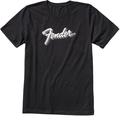 Fender 3D Logo T-Shirt Black (Medium)