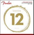 Fender 80/20 Dura-Tone Coated Acoustic Guitar Strings (12-52)