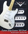 Fender Custom Shop '69 Stratocaster Pickup Set (White)