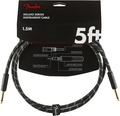 Fender Deluxe Tweed Instrument Cable (1.5m black tweed)
