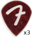 Fender F GRIP 551 Shape - 3-Pack (shell)