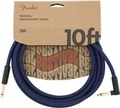 Fender Festival Instrument Cable (3m angled pure hemp blue dream)