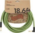 Fender Festival Instrument Cable (5.5m angled pure hemp green)