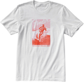 Fender Jaguar Surf T-Shirt White & Red (Medium)