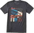 Fender Jaguar T-Shirt, Dark Gray (Medium)