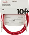 Fender Original Instrument cable (10ft, 3m, fiesta red)