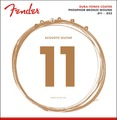 Fender Phosphor Bronze Dura-Tone Coated 860CL (custom light .011-.052)